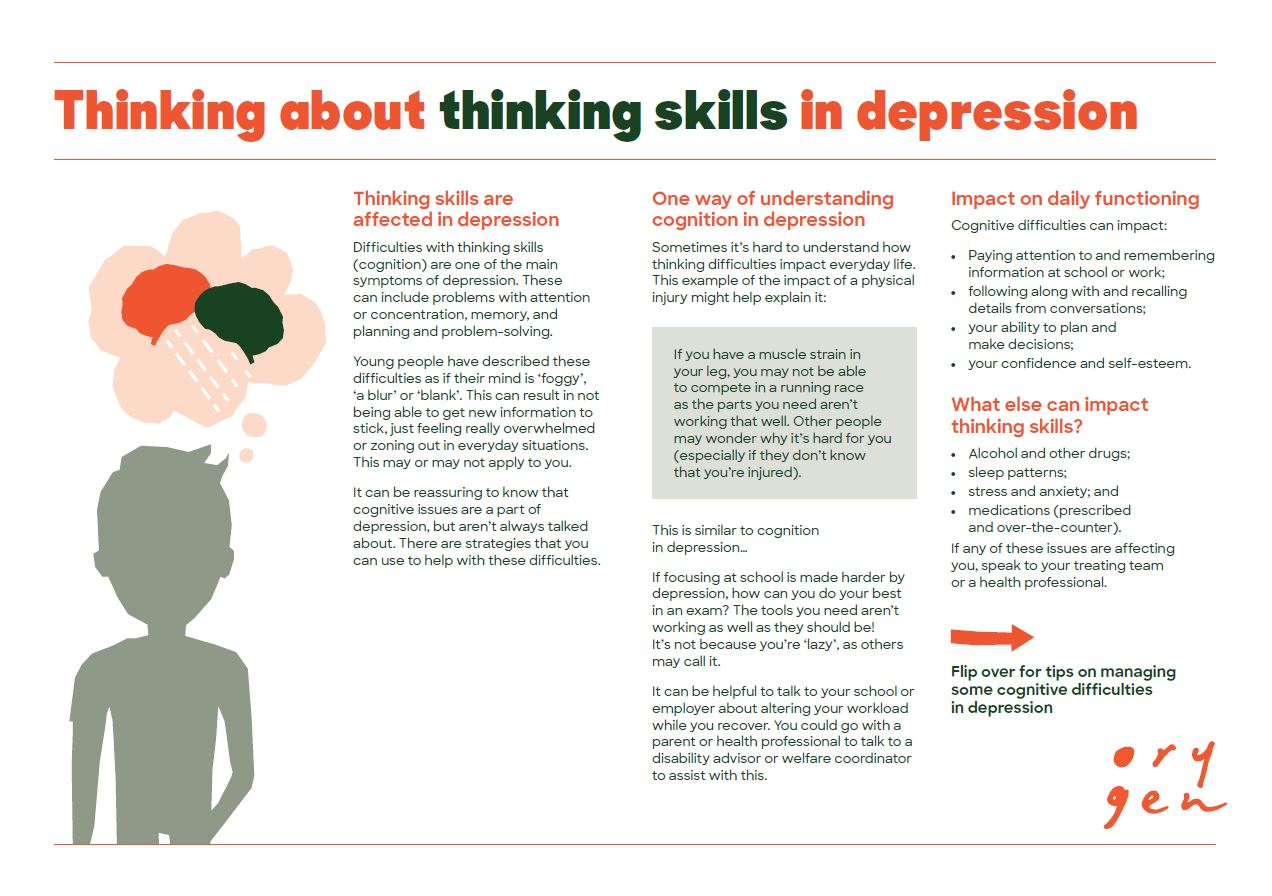 Thinking about thinking skills in depression