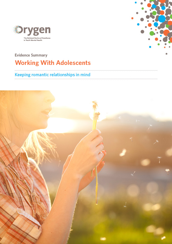 Working with Adolescents: Keeping Romantic Relationships in Mind