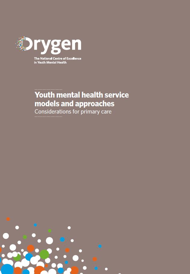 Youth mental health service models and approaches