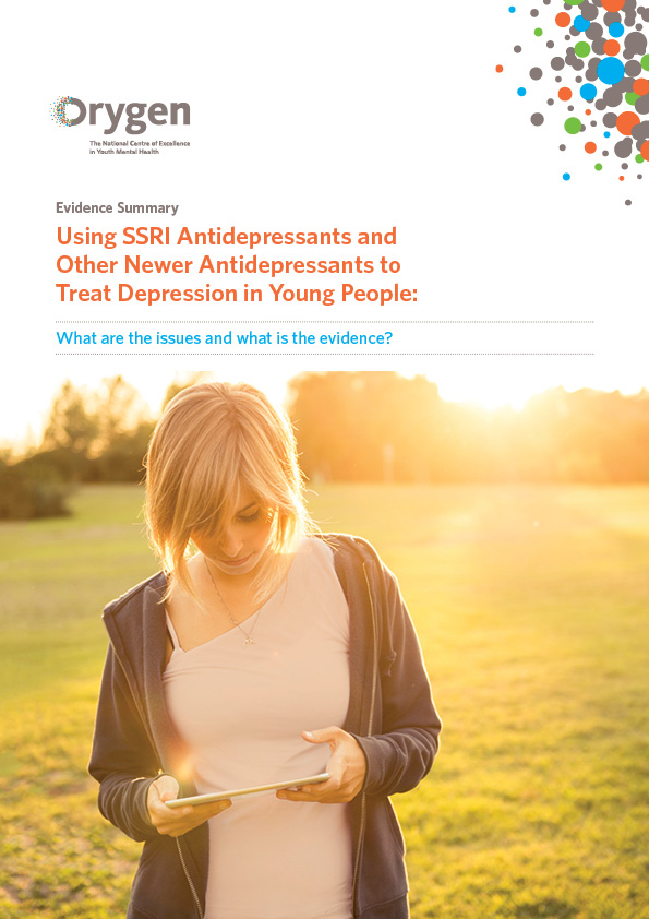 Using SSRI Antidepressants and Other Newer Antidepressants to Treat Depression in Young People