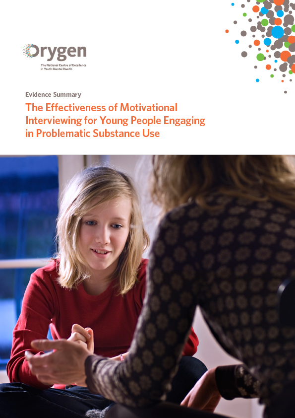 Effectiveness of Motivational Interviewing for Young People Engaging in Problematic Substance Use