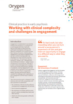 Working with clinical complexity and challenges in engagement