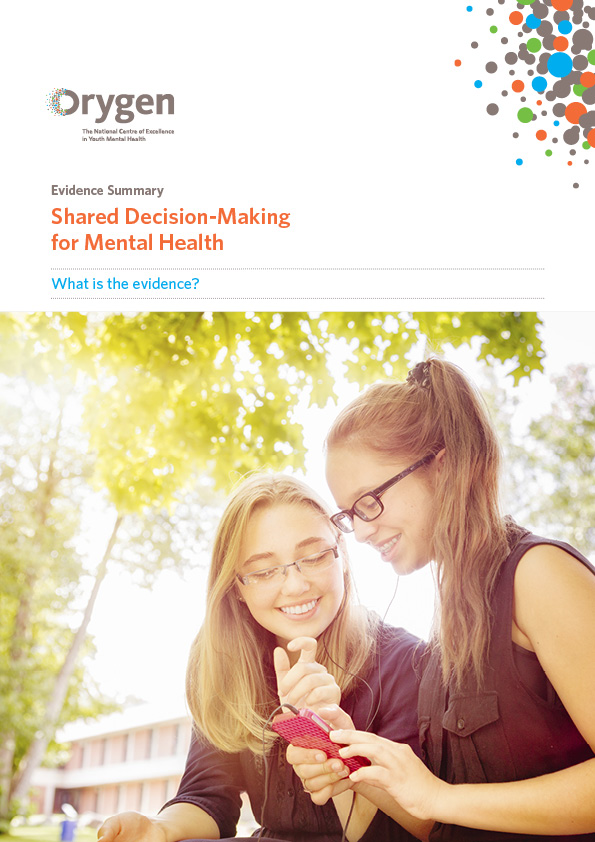 Shared Decision-Making for Mental Health